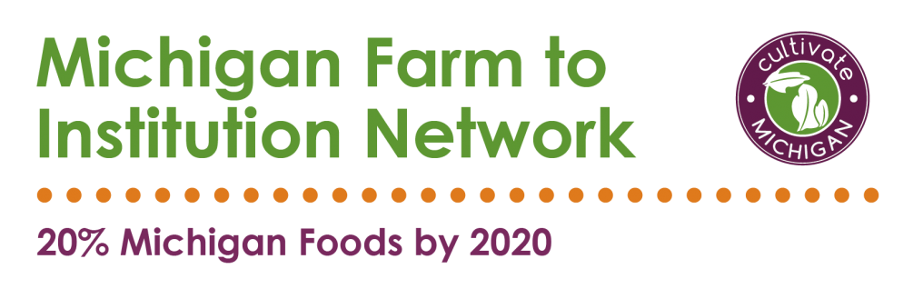 Michigan Farm to institute network logo.