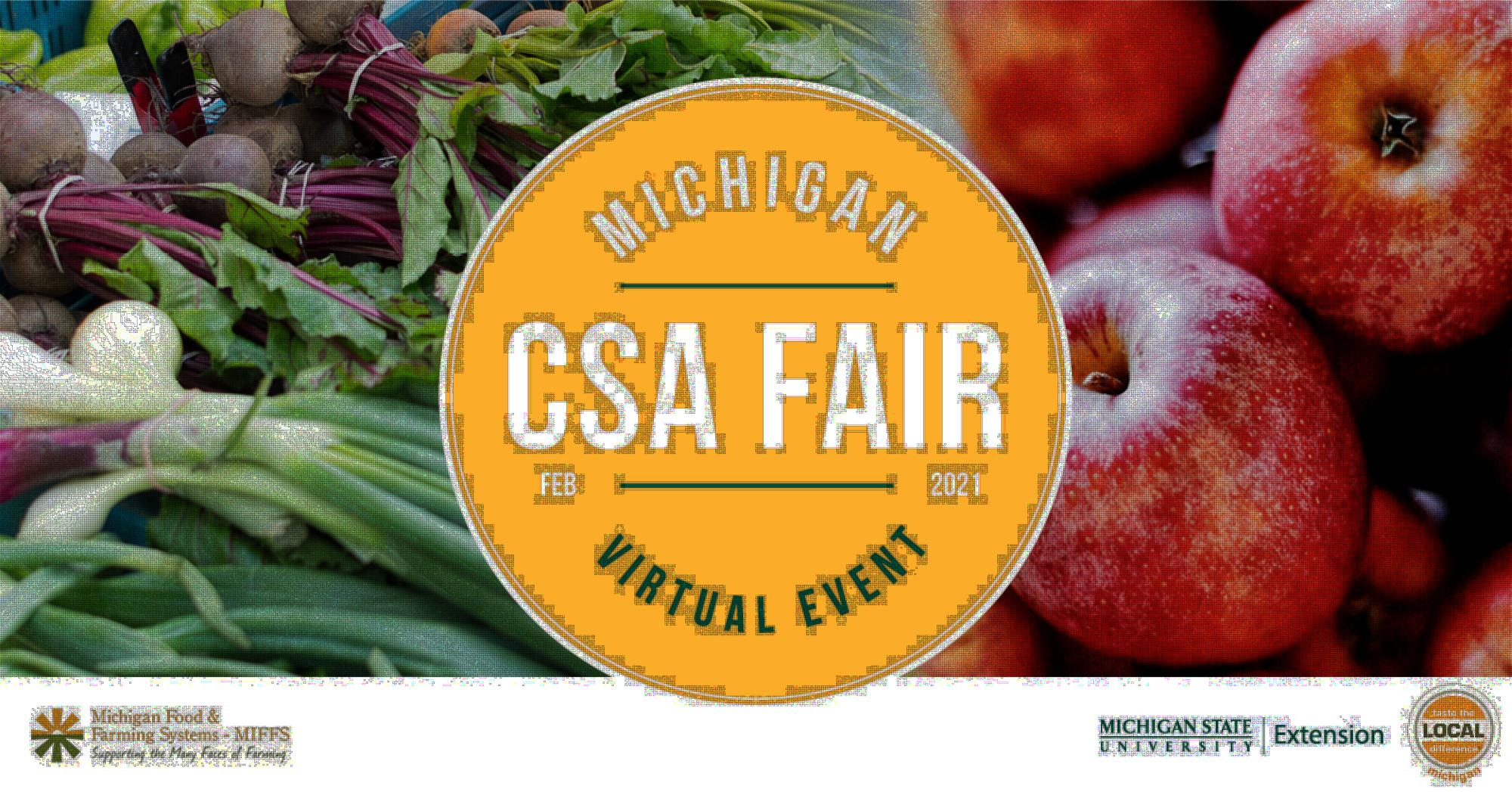 2021 Michigan Virtual CSA Fair
