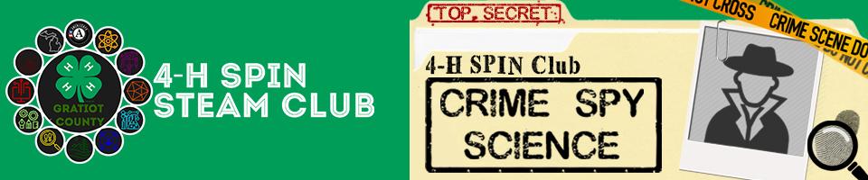 Crime Spy Science logo.