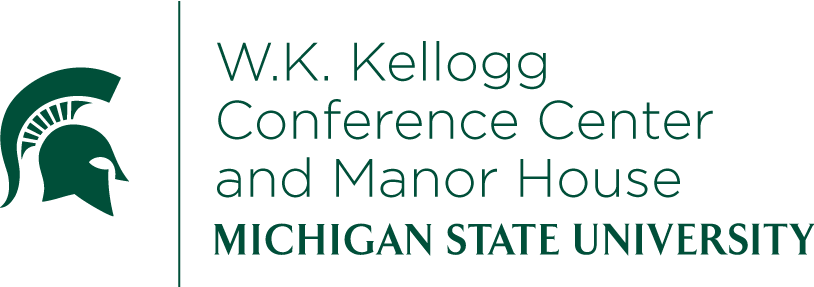 Michigan state univeristy kellogg biological station logo.