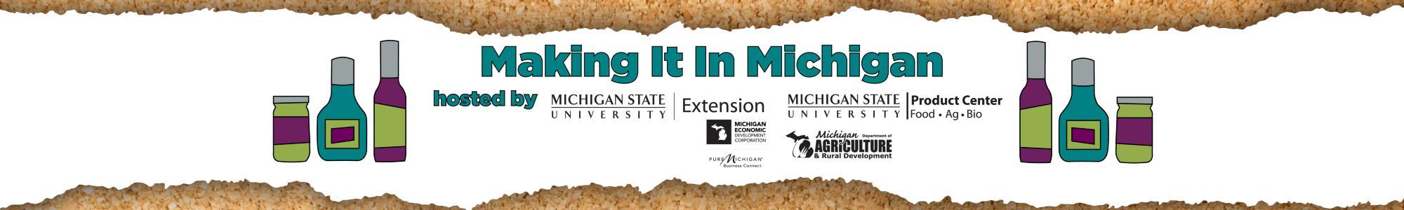Making it in Michigan logo.