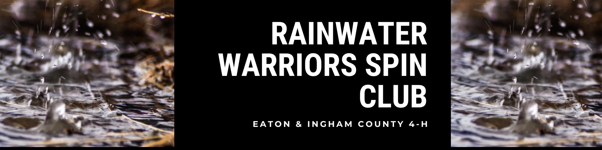 4-H Rainwater Warriors SPIN Club logo.
