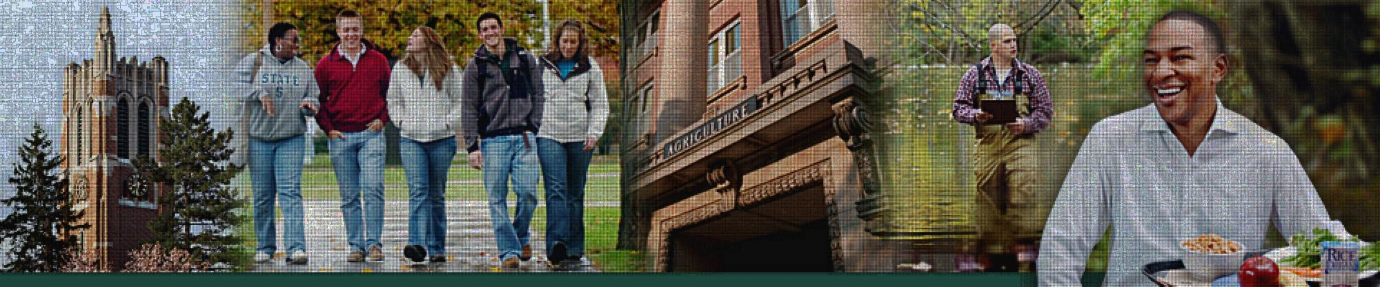 Images of people at michigan state university.