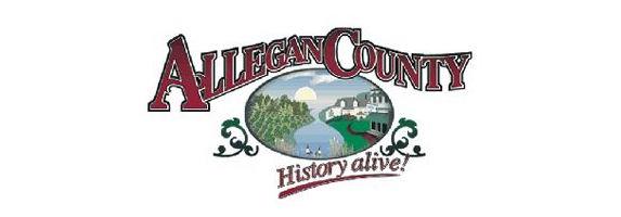 Allegan County history alive logo.