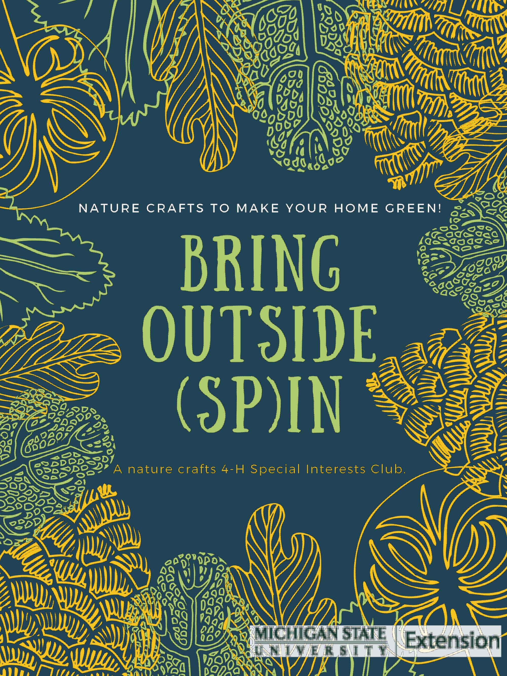 Bring out spin logo.