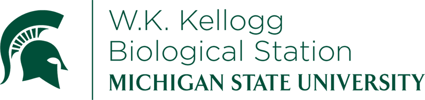 Michigan state university kellogg biological station logo.