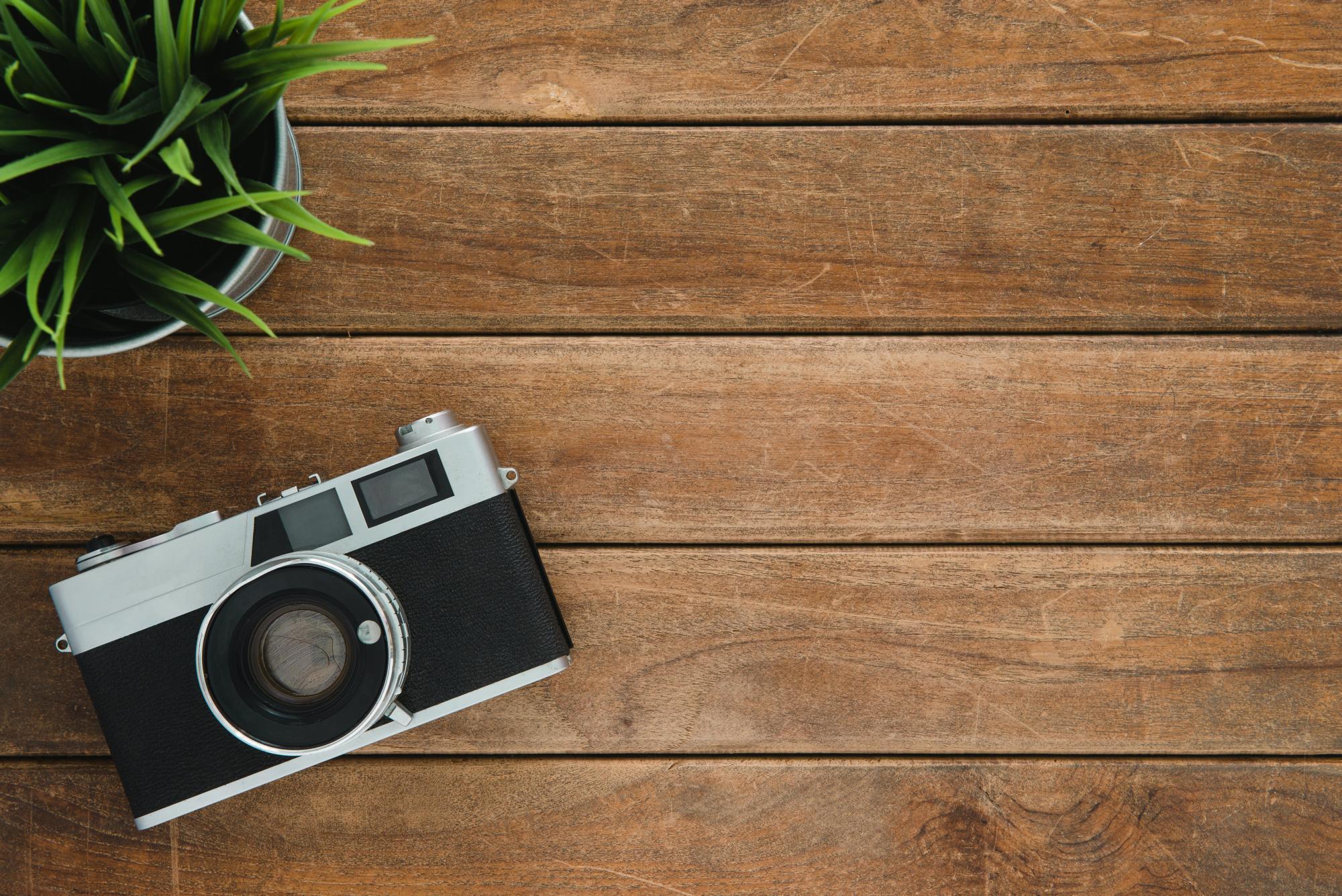 Image of a camera.