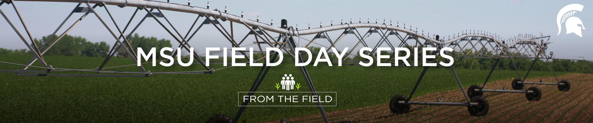 Michigan state university Field Day Series logo.