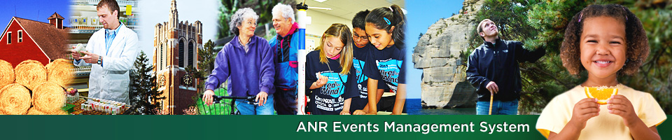 ANR Events Management System